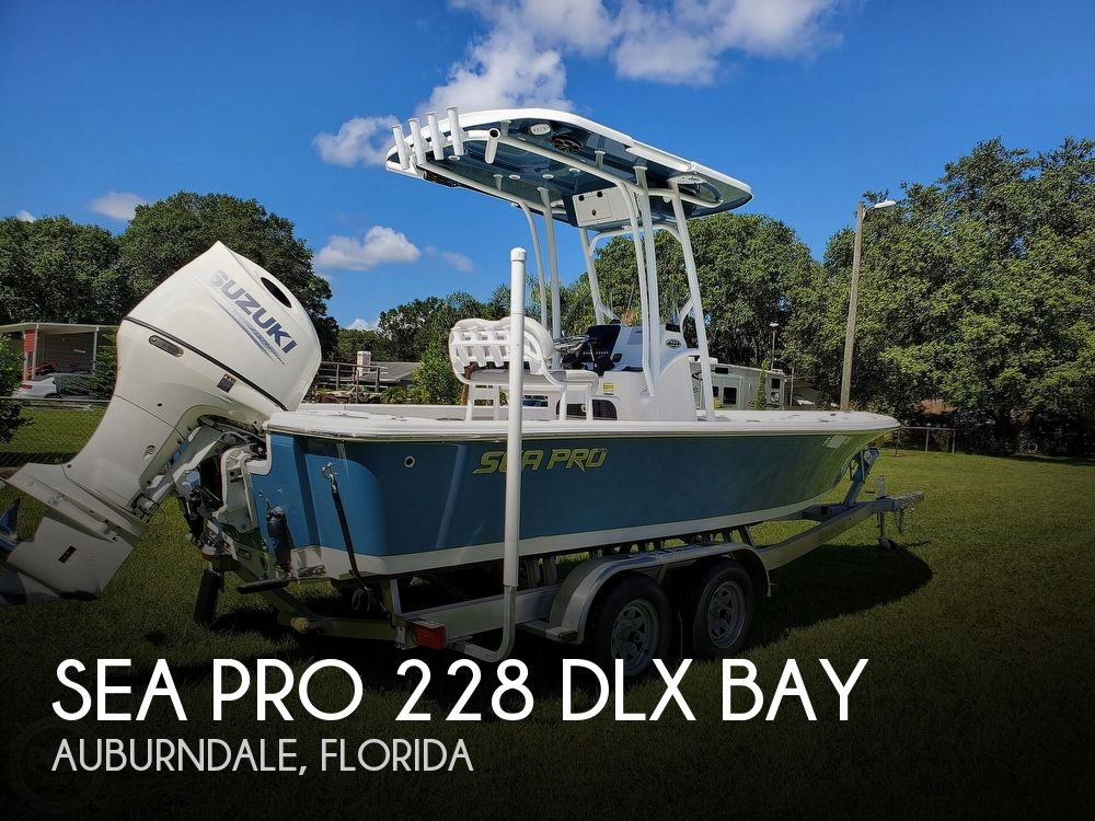 2020 SEA PRO 228 DLX BAY for sale