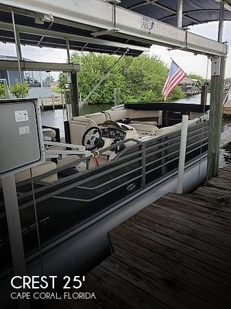 Used Crest Boats For Sale by owner | 2015 Crest 250 III Bar Boat