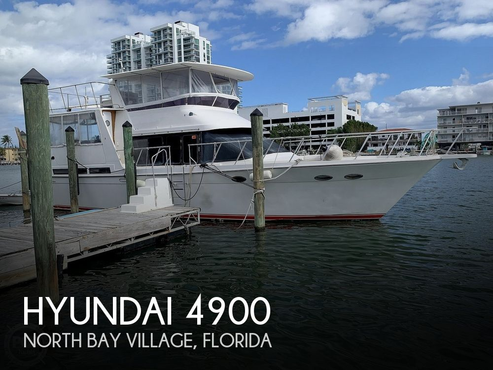 1993 Hyundai boat for sale, model of the boat is Elegant 4900 & Image # 1 of 40