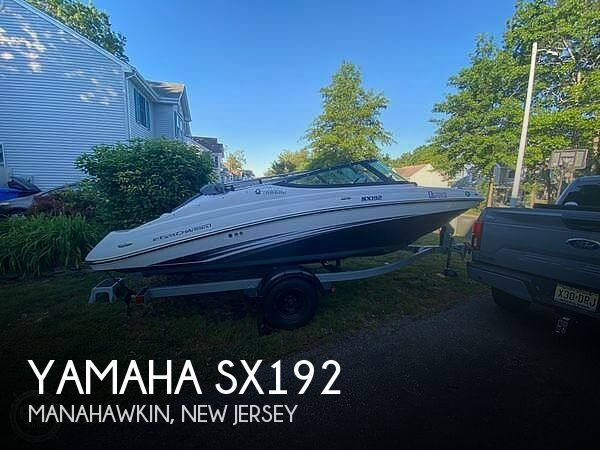 2016 Yamaha boat for sale, model of the boat is Sx192 & Image # 1 of 6