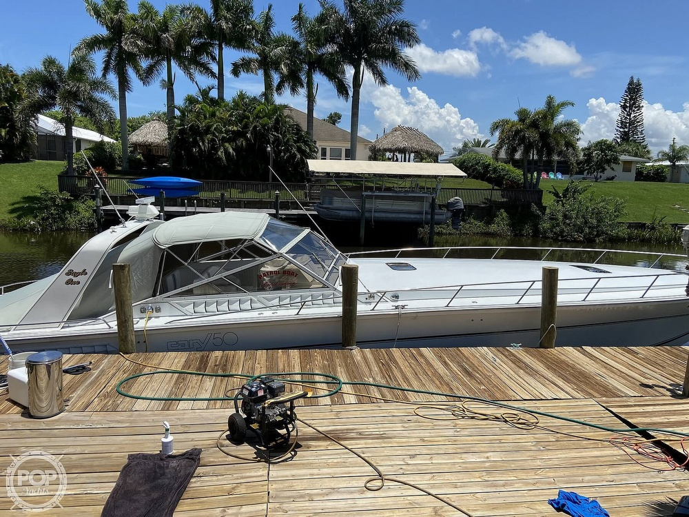 1988 Cary boat for sale, model of the boat is 50 Express & Image # 21 of 40