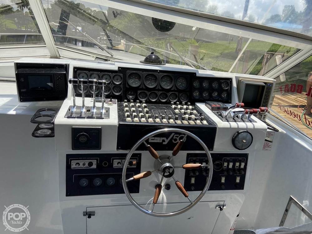 1988 Cary boat for sale, model of the boat is 50 Express & Image # 11 of 40