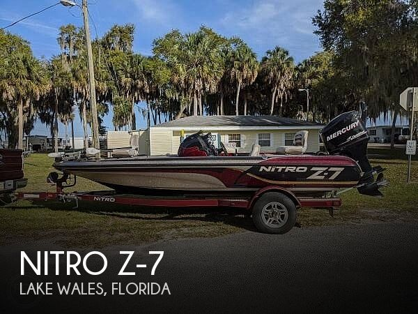 Used NITRO Boats For Sale in Florida by owner | 2010 Nitro Z-7