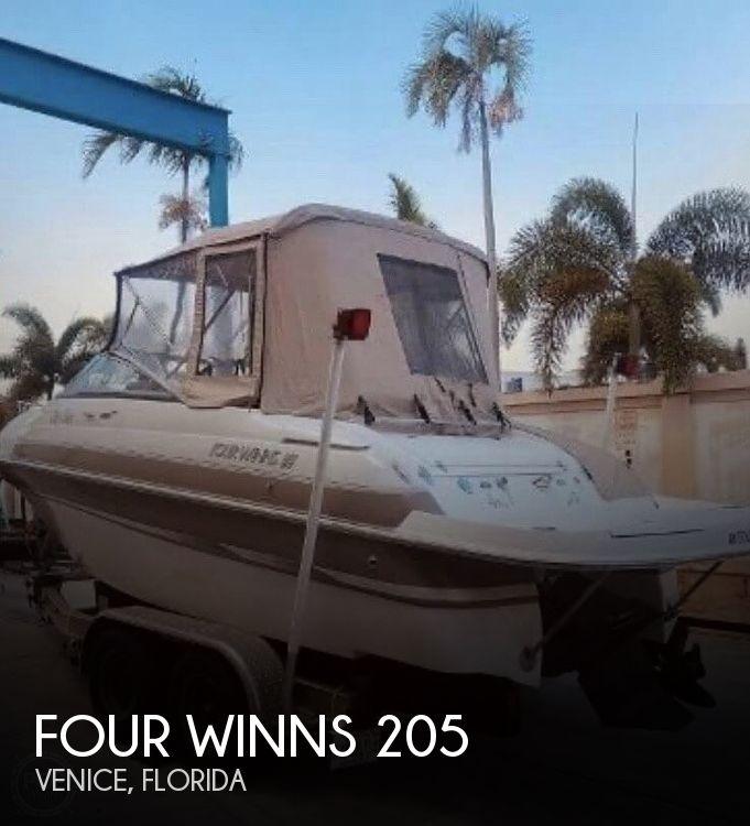 2003 Four Winns boat for sale, model of the boat is Sundowner 205 & Image # 1 of 40