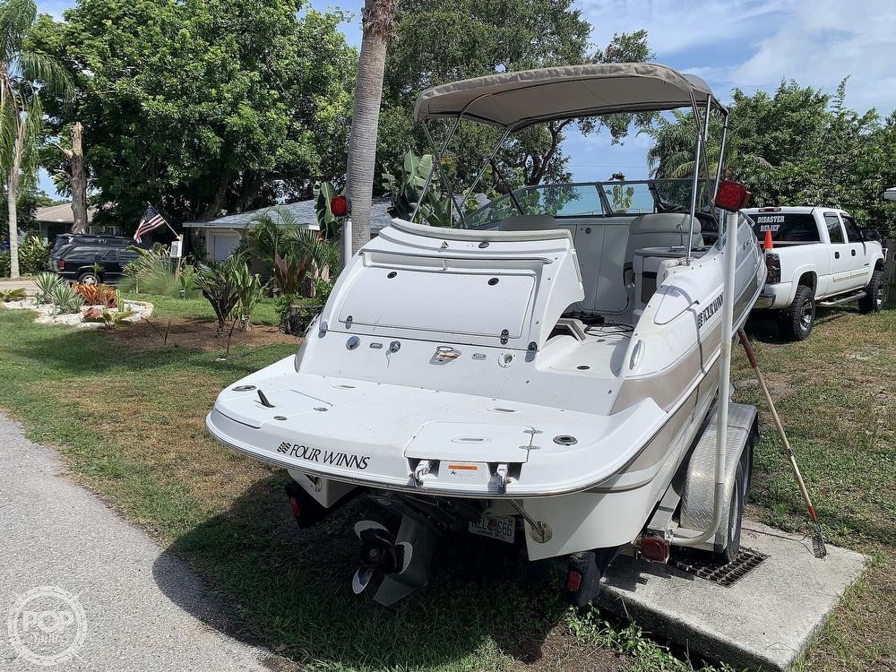 2003 Four Winns boat for sale, model of the boat is Sundowner 205 & Image # 3 of 40