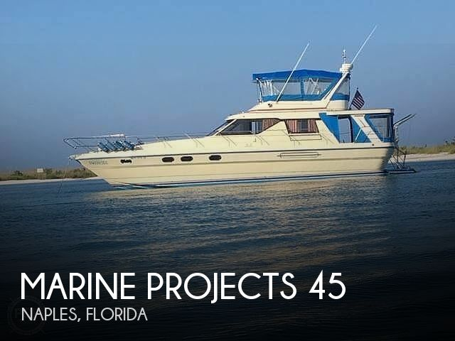 1983 Marine Projects boat for sale, model of the boat is Princess 45 & Image # 1 of 40