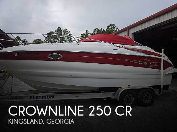 Used Crownline Boats For Sale in Georgia by owner | 2007 Crownline 250 CR