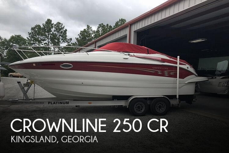 2007 Crownline boat for sale, model of the boat is 250 CR & Image # 1 of 40