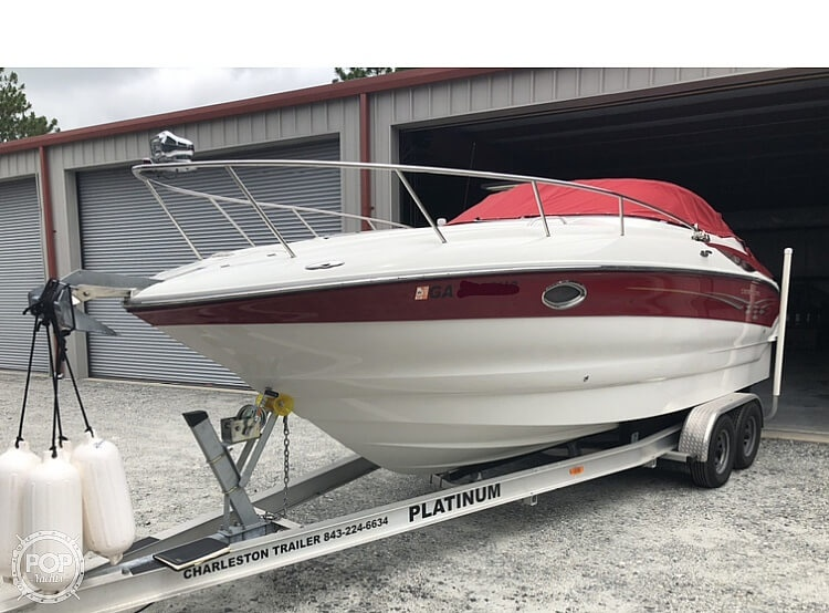 2007 Crownline boat for sale, model of the boat is 250 CR & Image # 4 of 40
