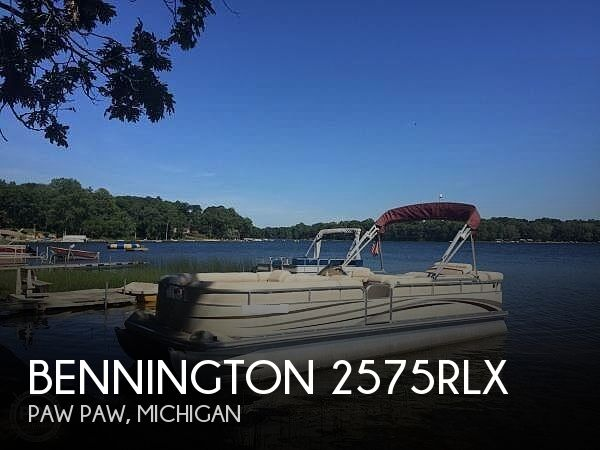 Used Pontoon Boats For Sale in Michigan by owner | 2002 Bennington 2575rlx