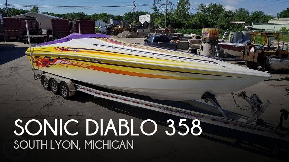 Used Sonic Boats For Sale by owner | 2000 Sonic Diablo 358