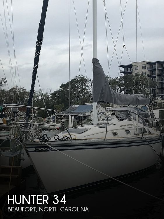 Used Hunter Sailboats For Sale in North Carolina by owner | 1983 Hunter 34