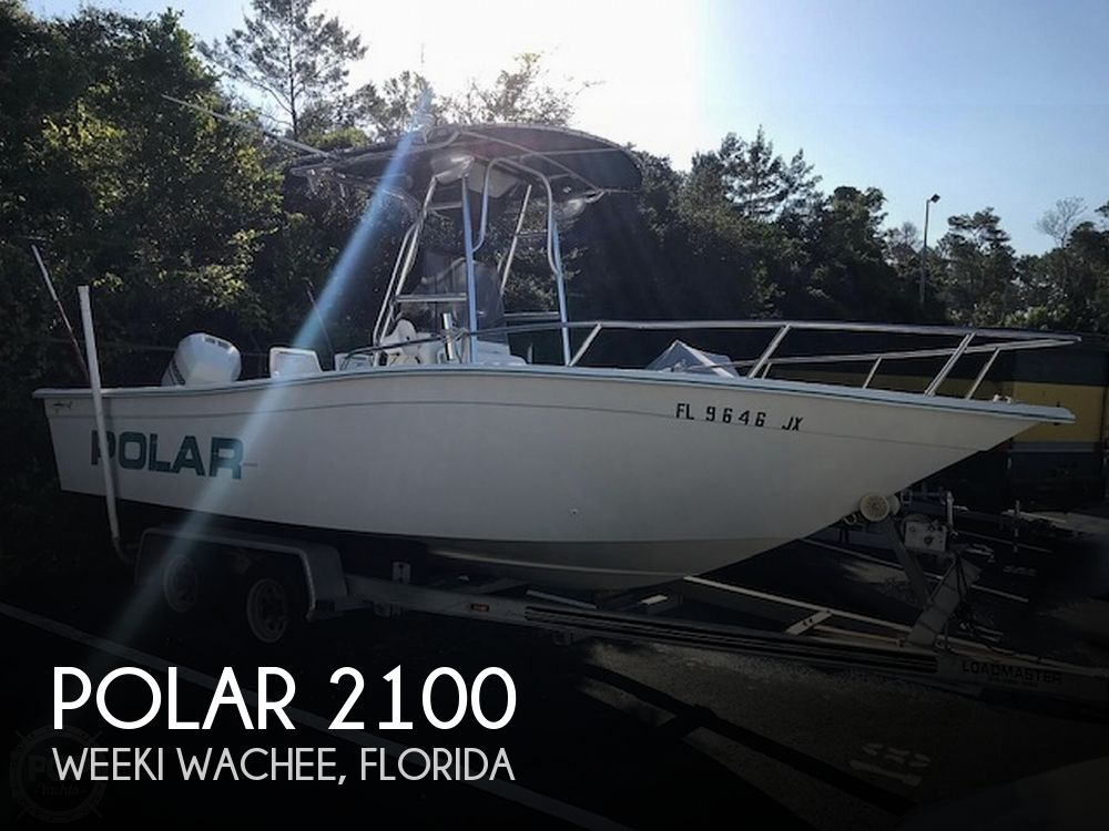 Used Polar Boats For Sale by owner | 1998 Polar 2100 center console