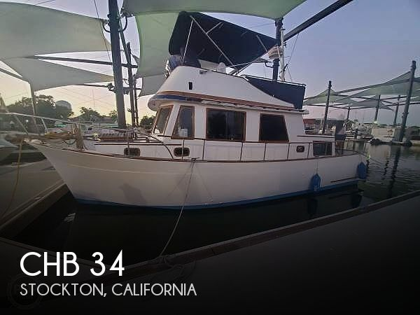 Used CHB Boats For Sale in California by owner | 1976 CHB 34
