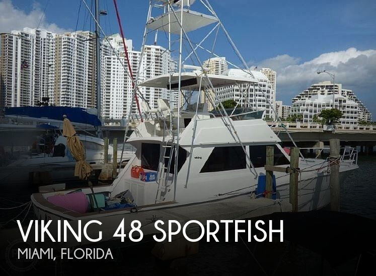 Used Viking Boats For Sale by owner | 1987 Viking 48 Sportfish