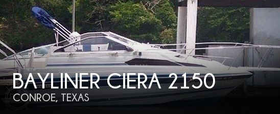 Used Bayliner Boats For Sale in Texas by owner | 1987 Bayliner Ciera 2150