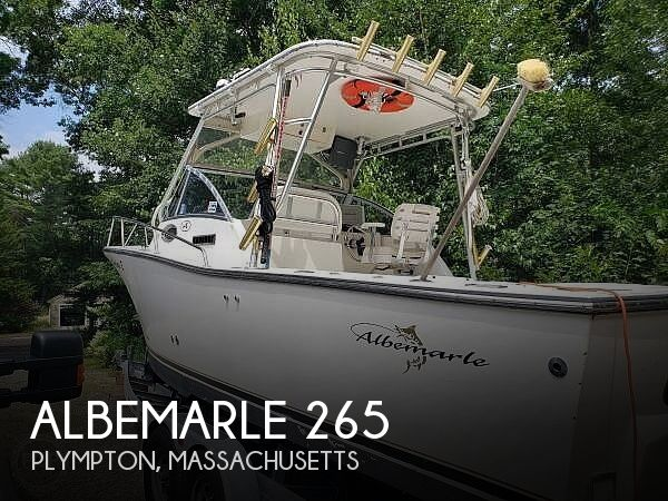 Used Albemarle Boats For Sale by owner | 2002 Albemarle 265