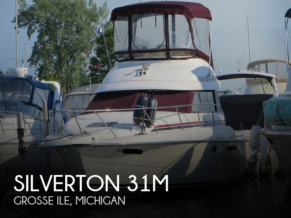 1991 Silverton boat for sale, model of the boat is 31m & Image # 1 of 40