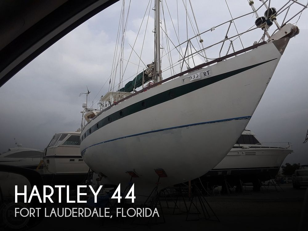 1995 Hartley boat for sale, model of the boat is Fijian Cutter Rig 44 & Image # 1 of 40