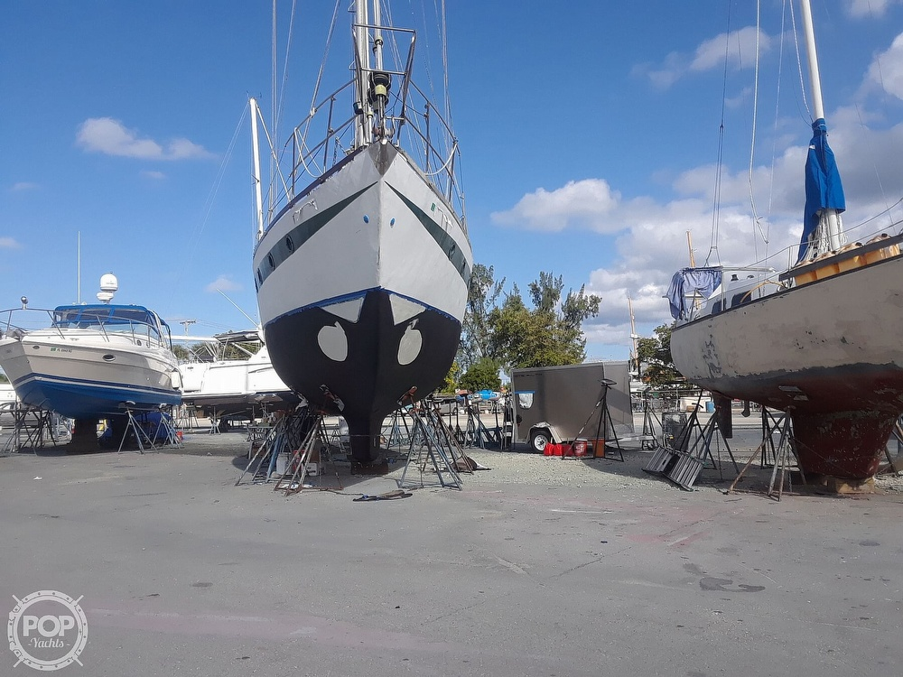 1995 Hartley boat for sale, model of the boat is Fijian Cutter Rig 44 & Image # 4 of 40