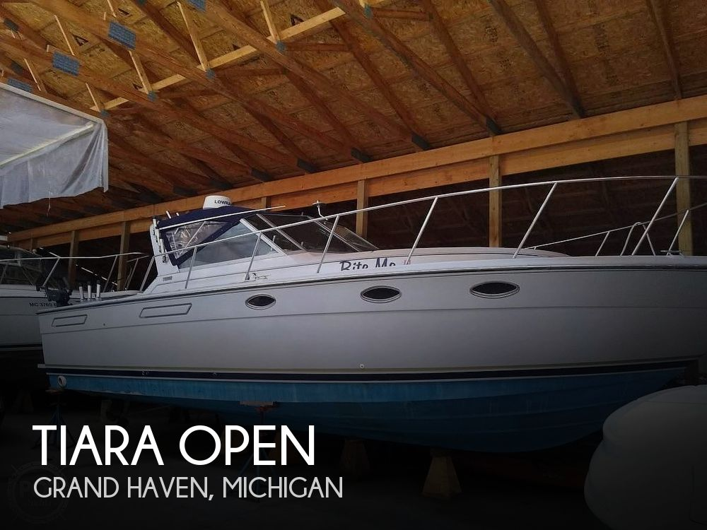 Used Fishing boats For Sale in Michigan by owner | 1987 31 foot Tiara Open