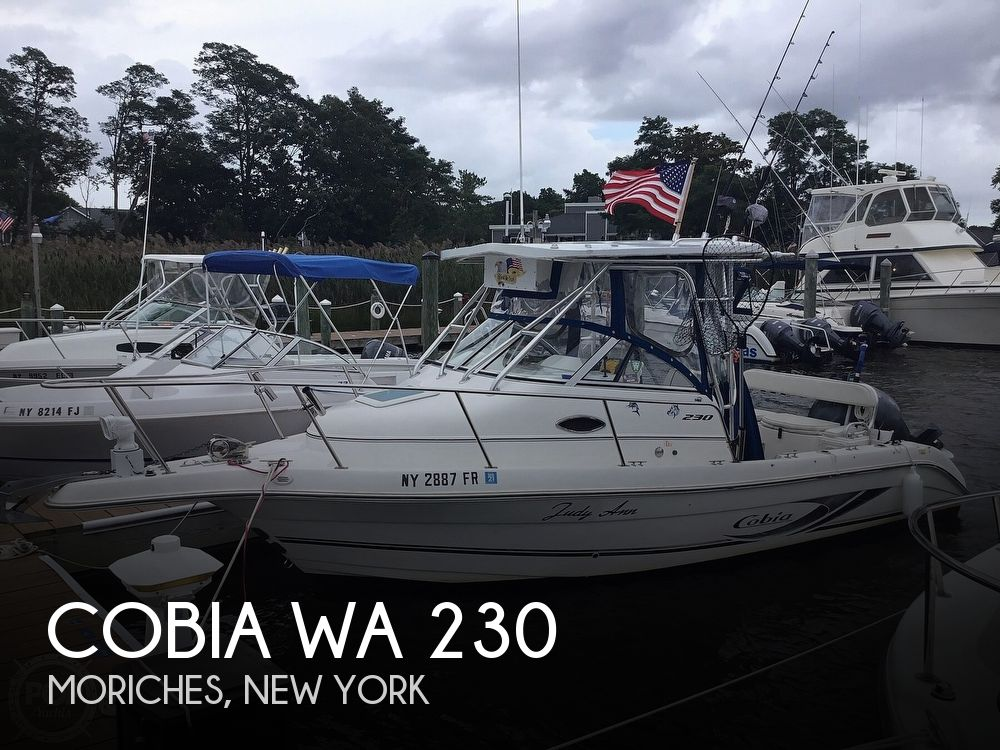 Used Cobia Boats For Sale in New York by owner | 2003 Cobia WA 230