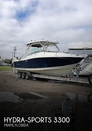 Used Boats For Sale by owner | 2005 Hydra-Sports 3300 Vector