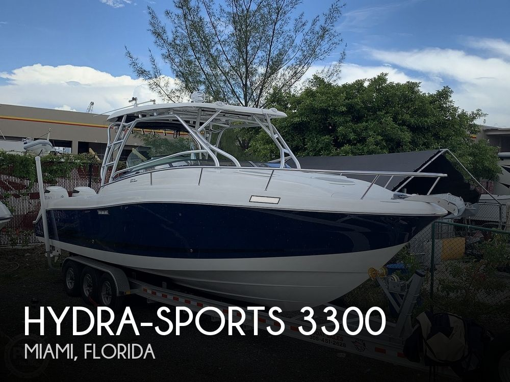 2005 Hydra-Sports boat for sale, model of the boat is 3300 Vector EXP & Image # 1 of 40