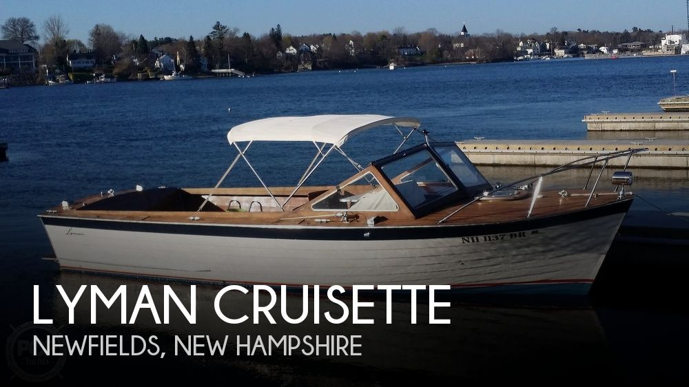 Used Lyman Boats For Sale by owner | 1969 26 foot Lyman Cruisette