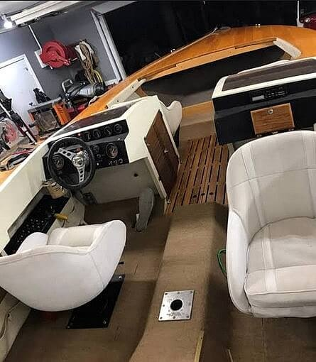1981 Custom boat for sale, model of the boat is 21 & Image # 6 of 31