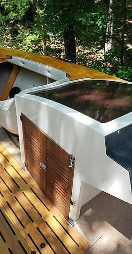 1981 Custom boat for sale, model of the boat is 21 & Image # 21 of 31