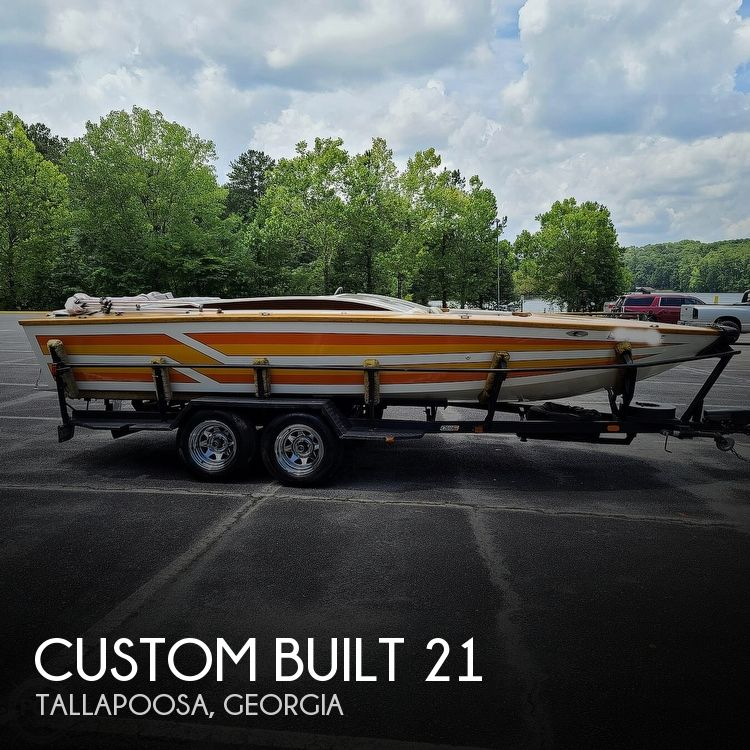 1981 Custom boat for sale, model of the boat is 21 & Image # 1 of 40