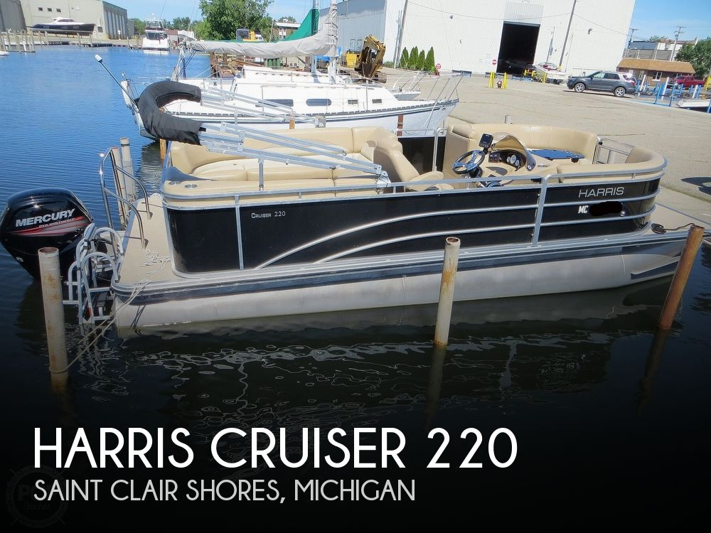 Used Harris Boats For Sale by owner | 2015 Harris Cruiser 220
