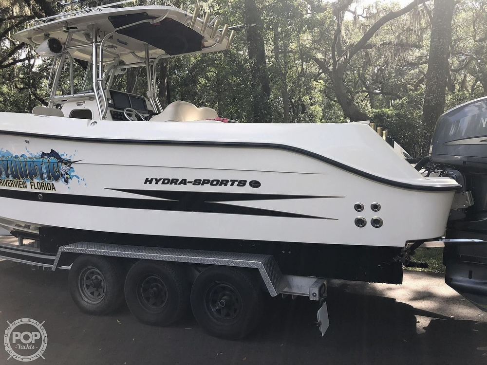 2007 Hydra-Sports boat for sale, model of the boat is Vector 2900 CC & Image # 16 of 40