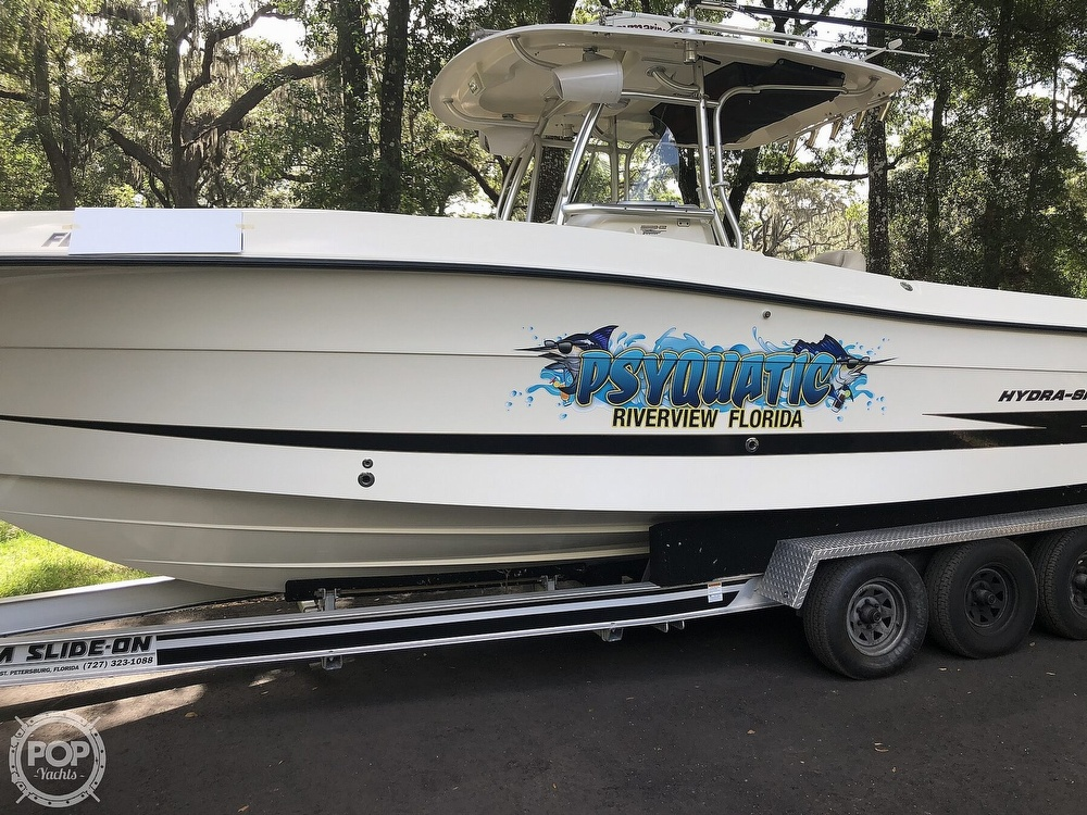 2007 Hydra-Sports boat for sale, model of the boat is Vector 2900 CC & Image # 20 of 40
