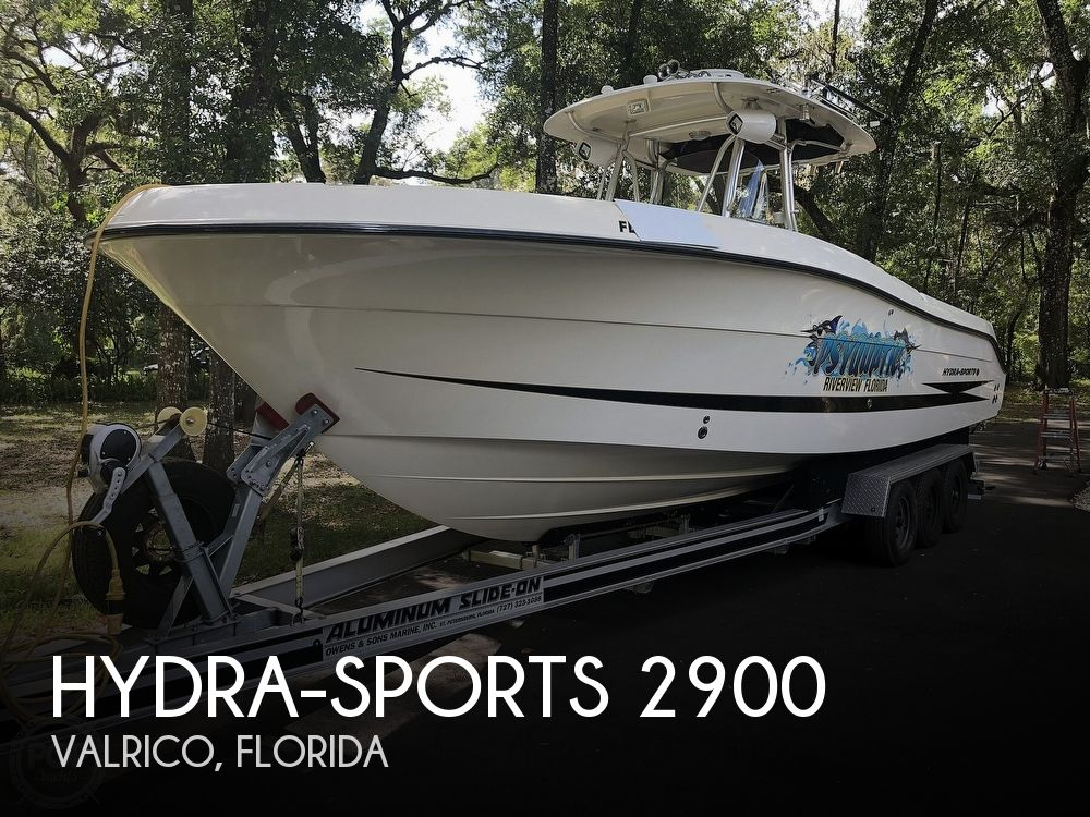 2007 Hydra-Sports boat for sale, model of the boat is Vector 2900 CC & Image # 1 of 40