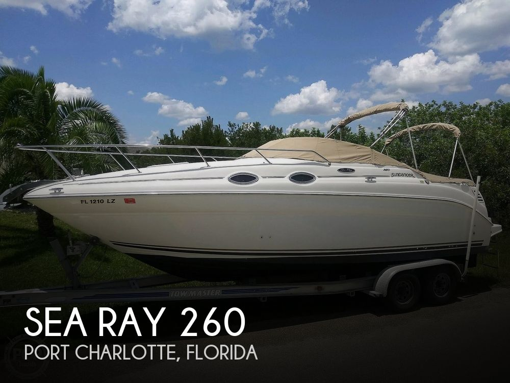 Used Sea Ray 260 Sundancer Boats For Sale by owner | 2002 Sea Ray 260 Sundancer