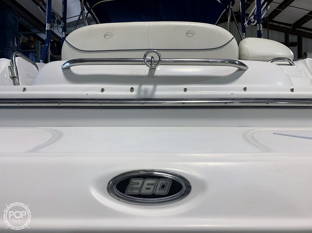 2004 Crownline boat for sale, model of the boat is 260 EX & Image # 21 of 41