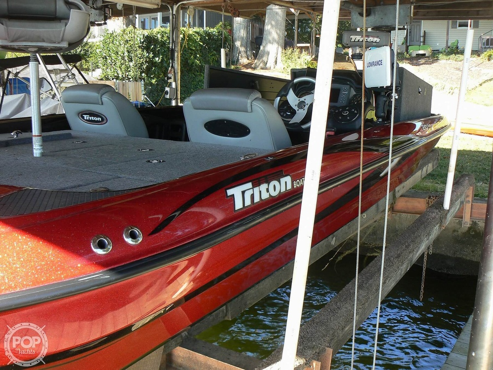 2007 Triton boat for sale, model of the boat is Earl Bentz-20 TRX & Image # 11 of 40
