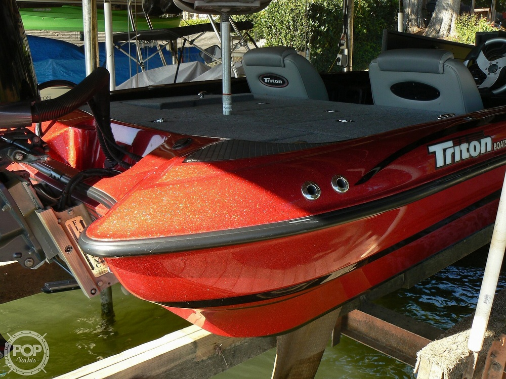 2007 Triton boat for sale, model of the boat is Earl Bentz-20 TRX & Image # 12 of 40