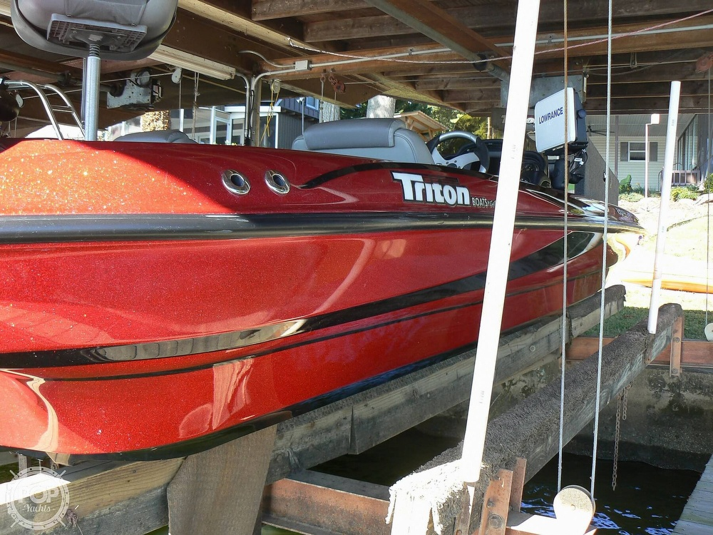 2007 Triton boat for sale, model of the boat is Earl Bentz-20 TRX & Image # 14 of 40