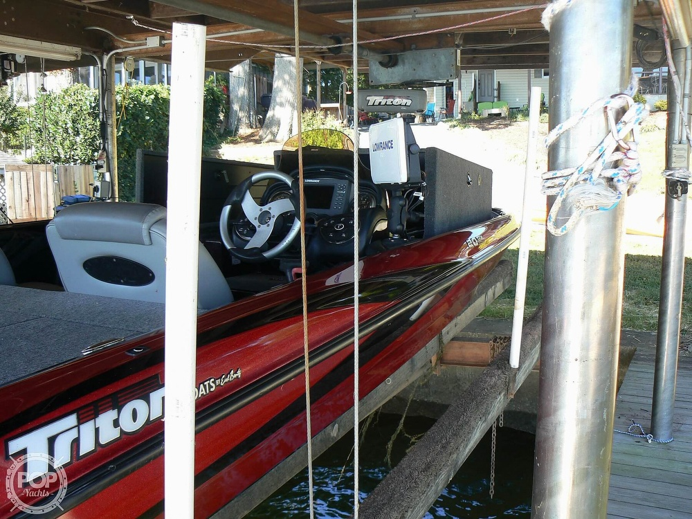 2007 Triton boat for sale, model of the boat is Earl Bentz-20 TRX & Image # 15 of 40