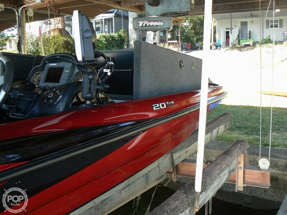 2007 Triton boat for sale, model of the boat is Earl Bentz-20 TRX & Image # 16 of 40