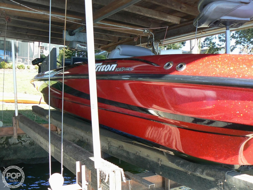 2007 Triton boat for sale, model of the boat is Earl Bentz-20 TRX & Image # 24 of 40