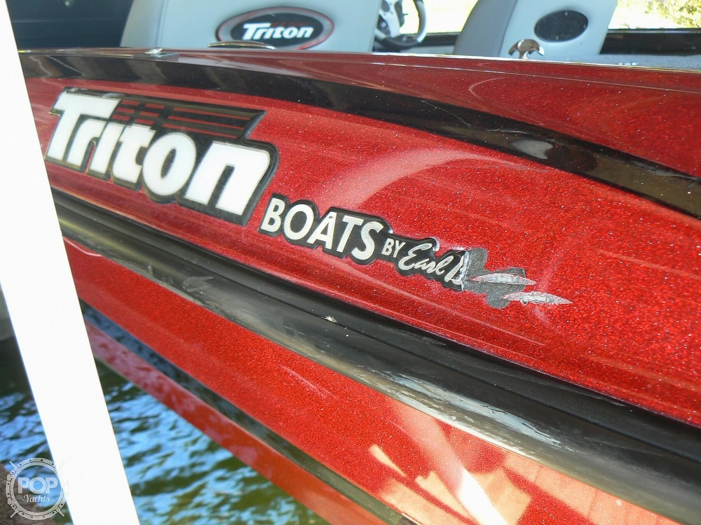 2007 Triton boat for sale, model of the boat is Earl Bentz-20 TRX & Image # 29 of 40