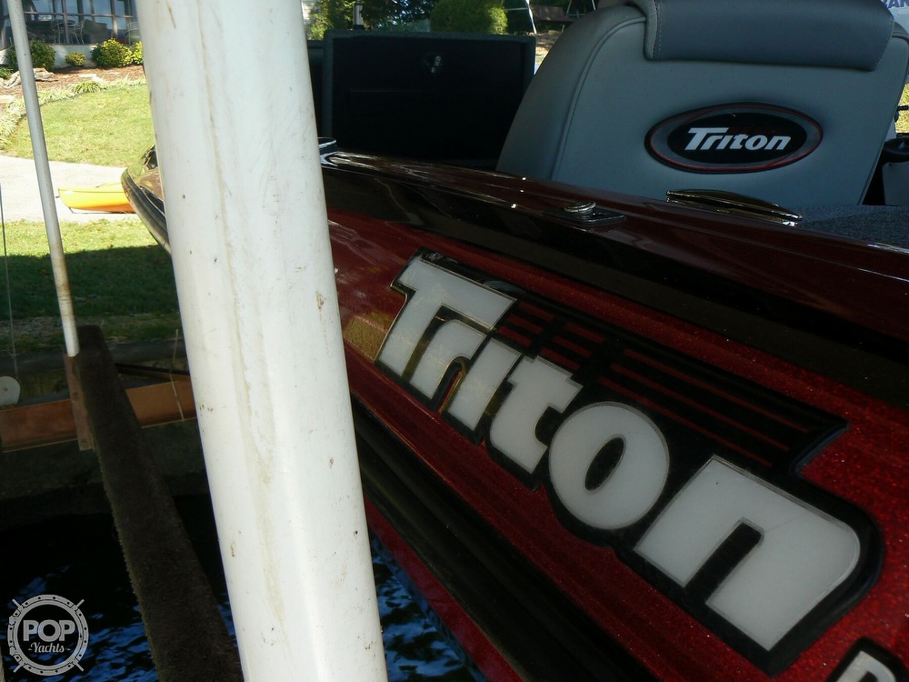 2007 Triton boat for sale, model of the boat is Earl Bentz-20 TRX & Image # 30 of 40
