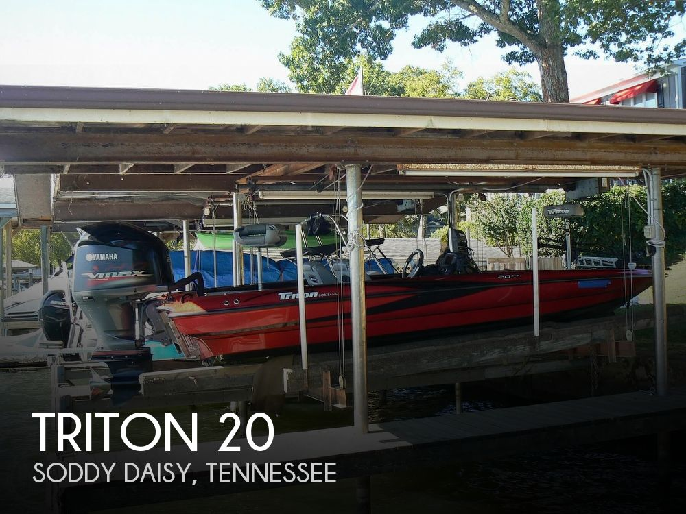 2007 Triton boat for sale, model of the boat is Earl Bentz-20 TRX & Image # 1 of 40