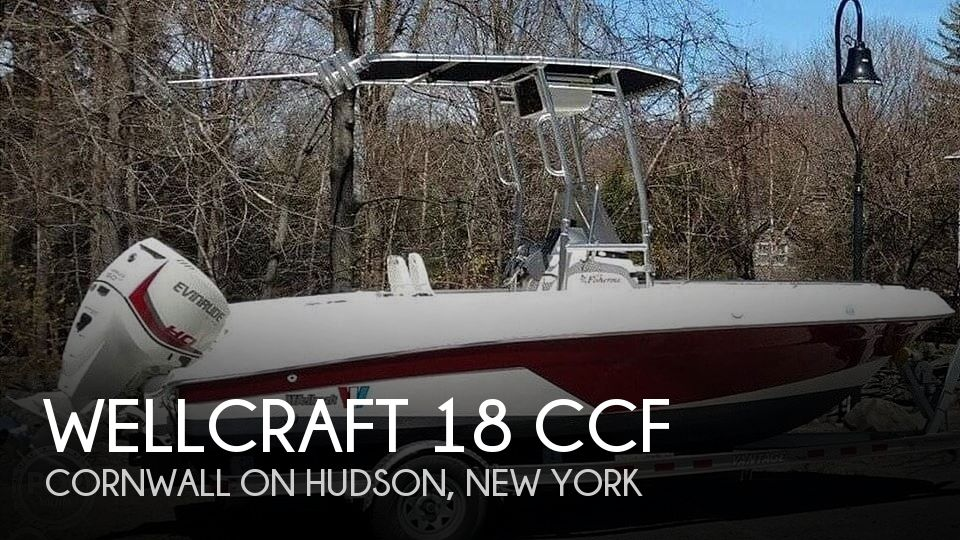 1999 Wellcraft boat for sale, model of the boat is 18 CCF & Image # 1 of 15