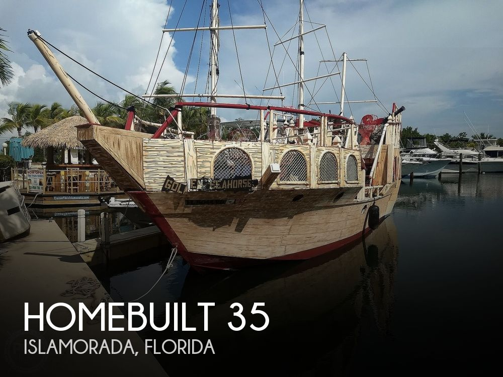 2016 Homebuilt boat for sale, model of the boat is 35 Pirate Ship & Image # 1 of 41