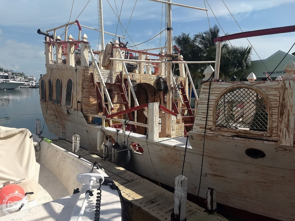 2016 Homebuilt boat for sale, model of the boat is 35 Pirate Ship & Image # 2 of 41